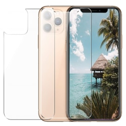 iPhone 12 Pro Max Temperat glas Framsida & Baksida