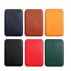 Magsafe Smart Wallet Korthållare - 6 Färger svart