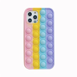 Pop It Fidget MultiColor skal till iPhone 7/8, X/XS, 11, 12