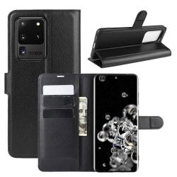 Samsung Galaxy S20 Plånboksfodral - Svart