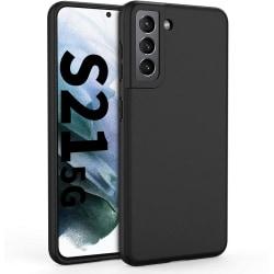 Samsung Galaxy S21 - Matt TPU Skal - Svart