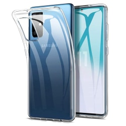 Samsung S20 + Transparent skal