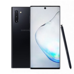 Begagnad Samsung Galaxy Note10 Plus 256GB Svart — Grade A Svart
