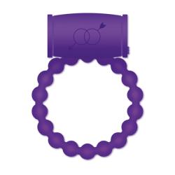 Casual Love Vibrating Cock Ring Purple Penisring med vibrator