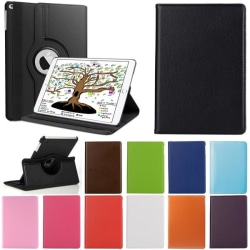 Fodral Apple iPad Mini 1, 2, 3 - Roterande 360 - 11 Färger Blå (Mörk)