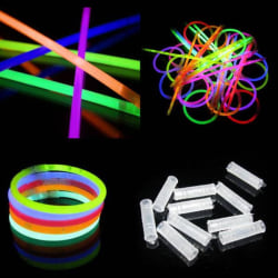 Glow Sticks / Lysstavar 500-pack