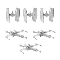 Julgransdekoration Star Wars (6st) Silver