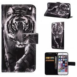 Plånboksfodral Apple iPhone 7 Plus – Tiger