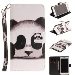 Plånboksfodral Apple iPhone 8 Plus – Panda