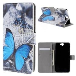 Plånboksfodral HTC One A9 – Blå Fjäril