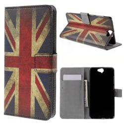Plånboksfodral HTC One A9 - Flagga UK