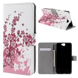 Plånboksfodral HTC One A9 - Körsbärsblommor