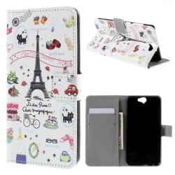 Plånboksfodral HTC One A9 – Paris