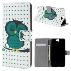 Plånboksfodral HTC One A9 – Prickigt med Uggla
