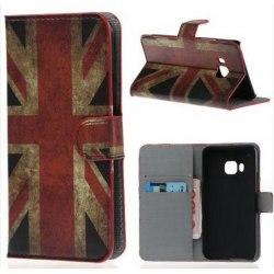 Plånboksfodral HTC One (M9) - Flagga UK