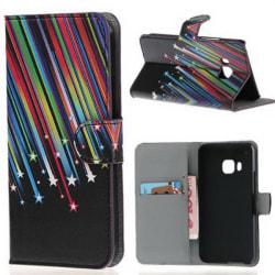 Plånboksfodral HTC One (M9) - Stjärnfall