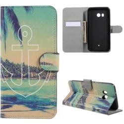 Plånboksfodral HTC U11 - Ankare