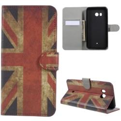 Plånboksfodral HTC U11 - Flagga UK