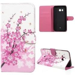 Plånboksfodral HTC U11 - Körsbärsblommor