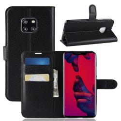 Plånboksfodral Huawei Mate 20 Pro - Svart Svart