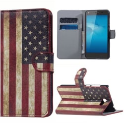 Plånboksfodral Huawei Y5 II - Flagga USA