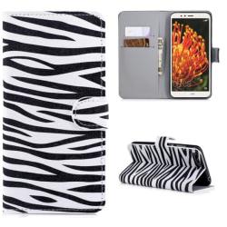 Plånboksfodral Huawei Y6 2018 - Zebra