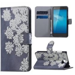 Plånboksfodral Huawei Y6 II Compact – Små Blommor