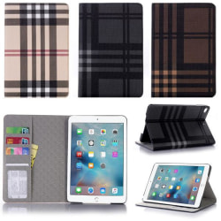 Plånboksfodral iPad Mini 5 (2019) - Rutmönster, 3 Färger Svart