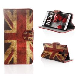 Plånboksfodral LG G3 (D855) - Flagga UK