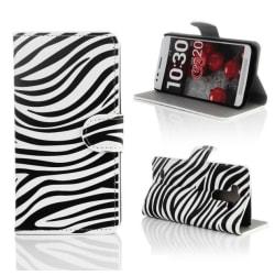 Plånboksfodral LG G3 (D855) - Zebra
