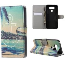 Plånboksfodral LG G6 - Ankare