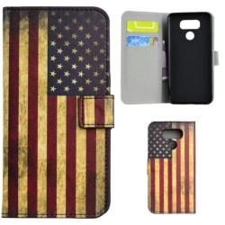 Plånboksfodral LG G6 - Flagga USA