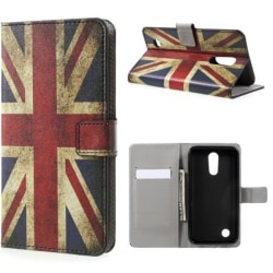 Plånboksfodral LG K10 2017 - Flagga UK