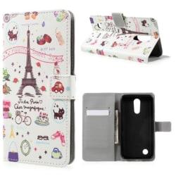 Plånboksfodral LG K10 2017 - Paris