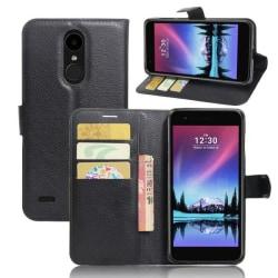 Plånboksfodral LG K10 2017 - Svart Svart