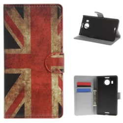 Plånboksfodral Microsoft Lumia 950 XL - Flagga UK