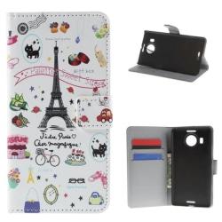 Plånboksfodral Microsoft Lumia 950 XL - Paris