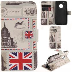 Plånboksfodral Moto G5 Plus – London