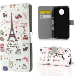 Plånboksfodral Moto G5S - Paris