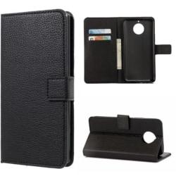 Plånboksfodral Moto G5S - Svart Svart