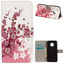 Plånboksfodral Motorola Moto G6 - Körsbärsblommor