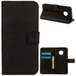 Plånboksfodral Motorola Moto G6 - Svart Svart