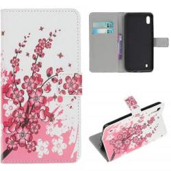 Plånboksfodral Samsung Galaxy A10 - Körsbärsblommor
