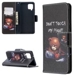 Plånboksfodral Samsung Galaxy A12 - Don't Touch My Phone