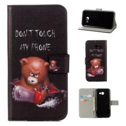 Plånboksfodral Samsung Galaxy A3 (2017) - Don't Touch My Phone
