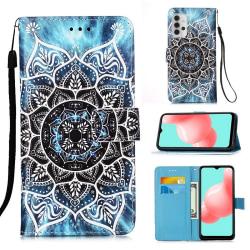 Plånboksfodral Samsung Galaxy A32 5G – Blå Mandala
