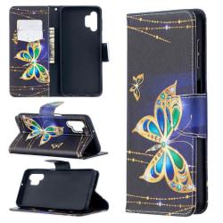 Plånboksfodral Samsung Galaxy A32 5G – Guldfjäril