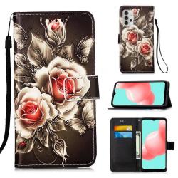 Plånboksfodral Samsung Galaxy A32 5G – Rosor