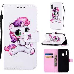 Plånboksfodral Samsung Galaxy A40 – Enhörning
