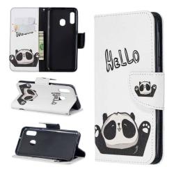 Plånboksfodral Samsung Galaxy A40 – Hello Panda